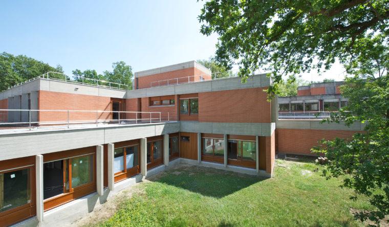Rénovation Eco Campus EDF Les Mureaux
