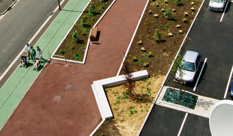Aménagement urbain Yvetot
