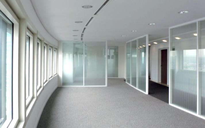 Réaménagement d'un étage type Tour Alicante Société Générale